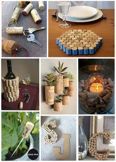 Los tapones de corcho nos ofrecen una infinidad de #DIY útiles y decorativos. ¡Con un poco de creatividad, aparecen un sinfín de ideas! #decoracion #DoItYourself #Casa