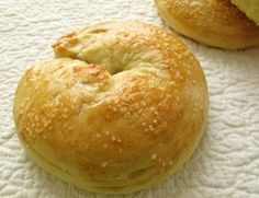Simple recipe for Homemade bagels- must try this soon, if for no other reason that to have something to spread cream cheese on! ;)