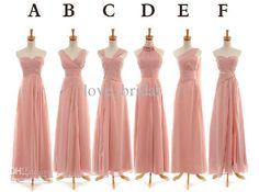 Wholesale 2013 Beach Bridesmaid Dresses Cheap Custom Made One Shoulder V-neck Ruffles Chiffon Long Wedding Party Dresses Guest Gowns Online, $102.27/Piece   DHgate Mobile