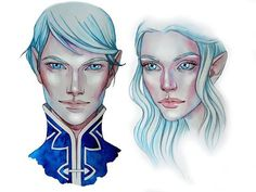 Kallias & Vivienne from A Court of Wings and Ruin By Me