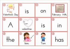 Sentence Scramble with Cut and Paste Worksheets - Valentine's Day Theme. There are 20 sentences to build and includes differentiated worksheets. Fun pocket chart word work activity for Kindergarten and First Grade students!