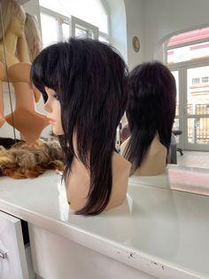 Natural human hair handmaded wig