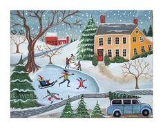 Wendy Presseisen Folk Art Paintings Prints Writing