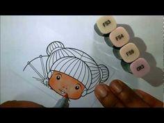 Spectrum Noir face coloring tutorial