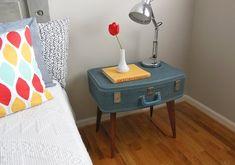 Trendy Möbel aus alten Koffern selber machen vintage look