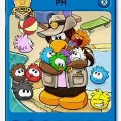 PH's Player Card on Club Penguin