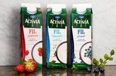 Danone - Activia | Amore Packaging Design & Brand Identity