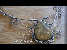 ▶ Let's make a Wire Wrapped Necklace with OurFrontYard - YouTube