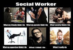 Social Worker - What I am really doing