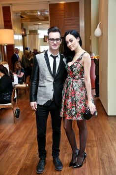 Brendon and Sarah. They are so cute together!