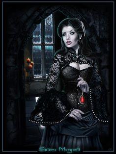 Vampire Aristocracy - Salome Morganti by *RavenMorgoth on deviantART