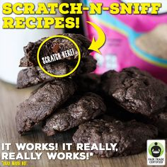 Introducing our all-new SCRATCH-N-SNIFF #Recipe Series! Craving cookies, brownies or cake but can't choose? Just scratch the picture below and let your nose do the rest! http://BakeFair.org/ #FairTrade #AprilFools