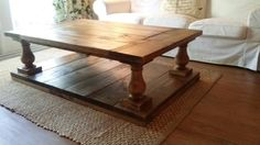 Check out this item in my Etsy shop https://www.etsy.com/listing/231066814/balustrade-coffee-table-free-shipping