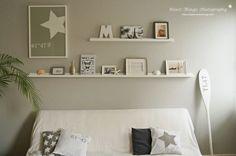 * N i c e s t T h i n g s *: Wall Decoration - Bilderleisten übers Sofa