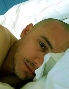 Shavedhead James Franco in bed :) James And Dave Franco, James 3, Actor James, Terry Richardson, Charming Man, Derek Hale, My Little Baby, Michael Fassbender, Robert Downey Jr