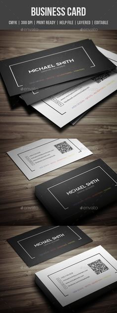 Personal Business Card - Creative Business Cards Download here : https://graphicriver.net/item/personal-business-card/19308402?s_rank=174&ref=Al-fatih