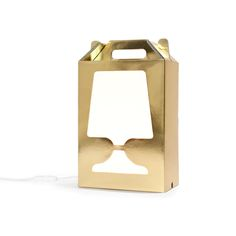 Flamp Golden White Special Edition Lamp!  #mywamli #designcode #lamp #light #home #homedesign #design #decor #creative #art #space #draw #funky #crazy #cool #color #office #studio #gift #giftidea #flamp #gold #bling