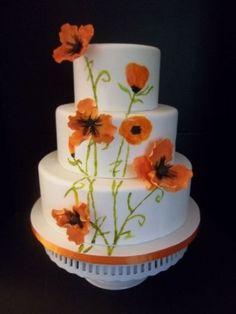 orange-poppy-wedding-cake-