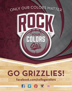 Rock Your Colors, Griz Nation!