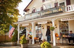 Williamsburg General Store: Williamsburg, Massachusetts, over 117 years old.