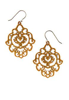 Lucky Brand Jewelry Gold Earrings