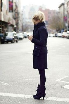 Laarzen en jassen en elegant wapenen tegen de winter