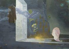 Ruprecht von  Kaufmann, Die Passage, 2013 Acryl und Öl auf Leinwand 150 x 210 cm