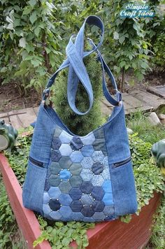 Unique fabric bags ideas