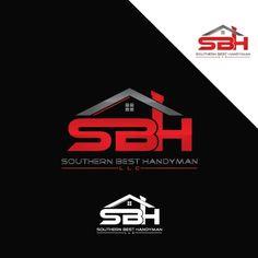 Overused logo SOLD Business Logo, Business Card Design, Business Cards, Unique Logo, Modern Logo, Typography Logo, Lettering, Roofing Logo, Construction Logo Design