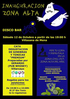 Inauguración zona alta Disco Bar Añil