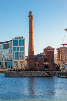 The Pumphouse in Liverpool forms part of the Albert Dock - part of Liverpool's UNESCO designated World Heritage Maritime Mercantile City. Photo by Jon Reid Liverpool Docks, Liverpool History, Liverpool Home, Liverpool England, Northern England, England Uk, Pump House, Uk Photos, Most Beautiful Cities