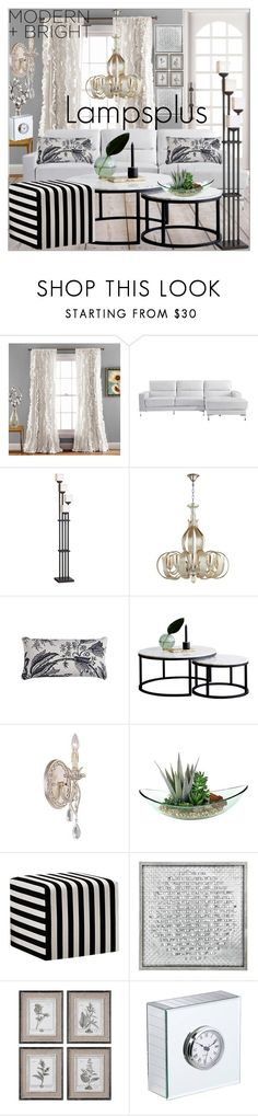 """""""lampsplus#28"""" by sabahetasaric ❤ liked on Polyvore featuring interior, interiors, interior design, home, home decor, interior decorating, Universal Lighting and Decor, Vienna Full Spectrum, Uttermost and HUGO"""