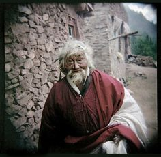 Pema Dorje photographed on assignment for book project on Yogis and Yoginins of  Kham Tibet, Zhamboling monastery