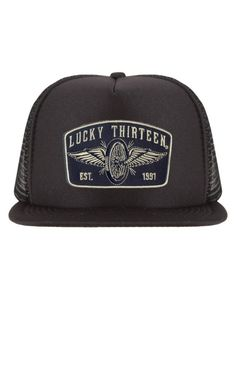 4c9978e241d The SPEEDSTER Flat Bill Trucker Hat