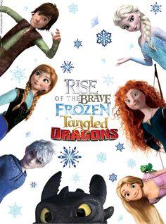 Ask Rise of The Brave Frozen Tangled Dragons by Okora-san.deviantart.com on @deviantART