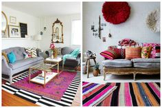 Bright and Lively Living Room Ideas That are Perfect for Spring
