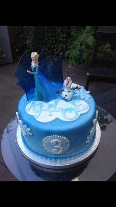 Gâteau la reine des neige