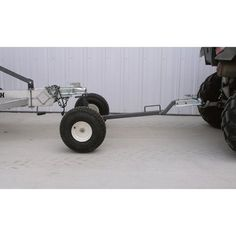 This Tow Tuff ATV Weight-Distributing Dolly makes it easy to move move trailers, implements, fish houses and other towables with your ATV. Trailer Dolly, Atv Parts, Quad Parts, Beach Cart, Atv Trailers, Truck Boxes, Tractor Implements, Tractor Attachments, Atv Accessories