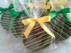 Yellow and Green Chocolate Covered Oreos Cookies John Deere Birthday Party Theme Party Favors Baby Shower Wedding Favors on Etsy, $18.00