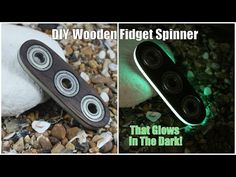 DIY Wooden Fidget Spinner That Glows in the Dark - All