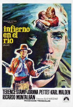 Western Film, Western Movies, Rio Blue, Karl Malden, Terence Stamp, Movie Poster Art, Paramount Pictures, Classic Films, Film Movie