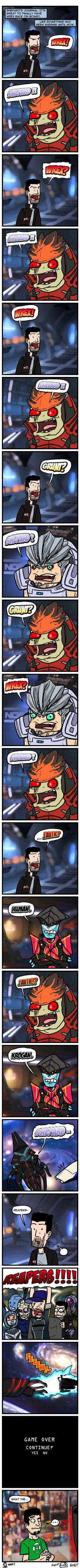 COMIX Shepard's Journal #2 by theEyZmaster.deviantart.com on @DeviantArt