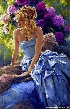 Sposa in blu