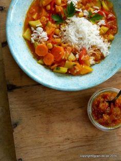 grain de sel - salzkorn: DAS Curry-Chutney