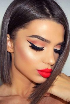 Red lipstick instantly makes you look feminine and sexually attractive. However, how to choose the most flattering shade of red? That is easy!