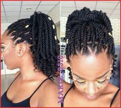 Marley hair is a versatile synthetic hair that can be used for a variety of styles including twists, 'dos &crochet braids. Here's How to style Marley hair guide Pelo Natural, Natural Hair Care, Natural Nails, My Hairstyle, Braided Hairstyles, Black Hairstyles, American Hairstyles, Marley Twist Hairstyles, Fancy Hairstyles