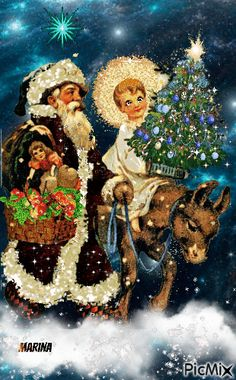 Merry Christmas Gif, Vintage Christmas Cards, Thankful, Fictional Characters, Art, Art Background, Kunst, Performing Arts, Fantasy Characters