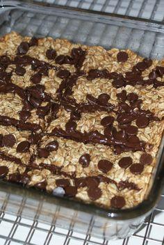 Chocolate Granola Breakfast Bars
