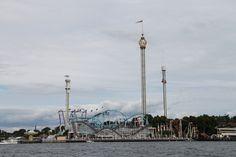 Tivoli Gröna Lund - park rozrywki w Sztokholmie