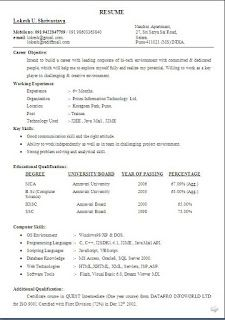 skills profile resume Sample Template Example ofBeautiful Excellent Professional Curriculum Vitae / Resume / CV Format with Career Objective Job Profile & Work Experience for Freshers & Experienced in Word / Doc / Pdf Free Download RESUME Lokesh U. Shrivastava. Nandini Apartment Mobile no: 091 9422847759 / 091 98603363840 27 Sri Satya Sai Road e-mail: lokesh@gmail.com. Satara. lokesh@rediffmail.com Pune-411021 (MS) INDIA. Career Objective: Intend to build a career with leading corporate of…